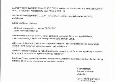 referencje kozłowski